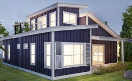 The Blue Modern Craftsman in Waco - Single Family Home - 1,300